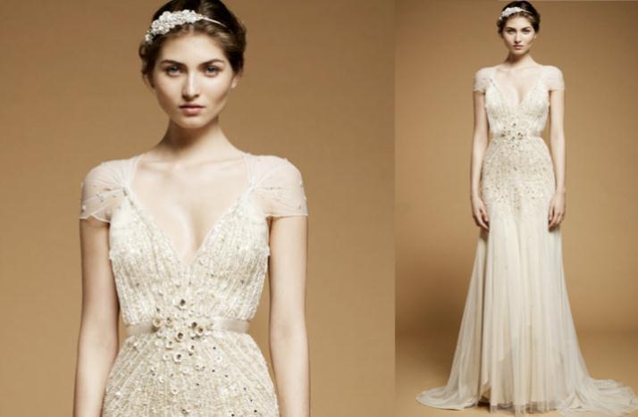 144 - Νυφικά Φορεματα 2012 Νυφικά Φορεματα με κοντά μανίκια