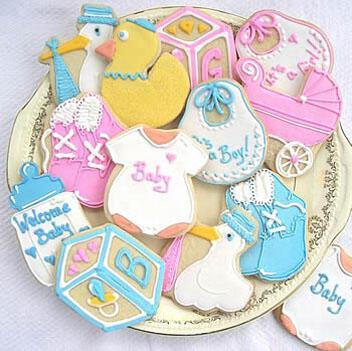 Χειροποίητα μπισκότα για το γάμο και τη βάφτιση από το Princess Taste