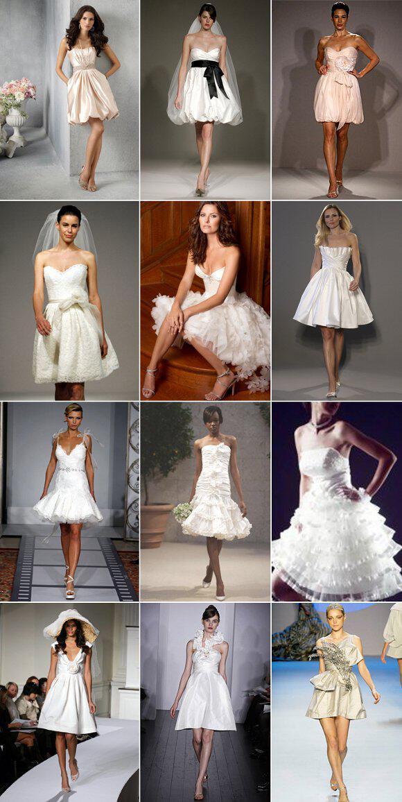 elegant short wedding dresses1 - Κοντό νυφικό, κάνει για μένα?