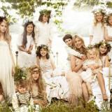 flowergirls 160x160 - Διάσημοι γάμοι - Νυφες του 2011