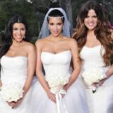 kim kardashian wedding dress photos 3 160x160 - Διάσημοι γάμοι - Νυφες του 2011