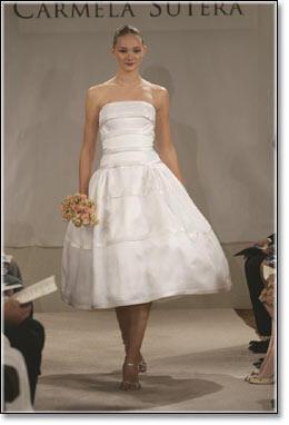 short wedding dress ideas - Κοντό νυφικό, κάνει για μένα?