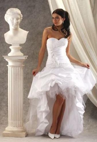 short wedding dresses2 - Κοντό νυφικό, κάνει για μένα?