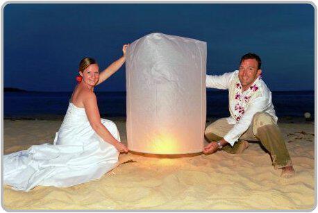 Αιωρούμενα φανάρια… ένα μοναδικό θέαμα στο γάμο σας!