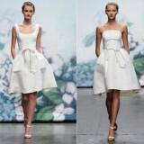 33 160x160 - Κοντά Νυφικά Φορεματα 2012