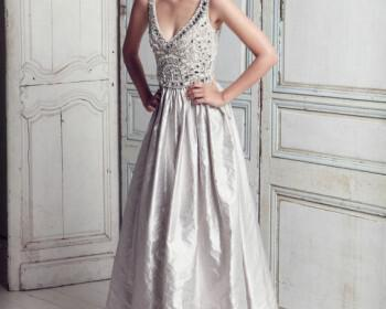Look 14 11215129 Fantasia V Neck Wedding Gown 350x280 - Νυφικά Φορεματα 2012 Collette Dinnigan Collection Ανοιξη Καλοκαίρι 2012