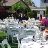 Δεξίωση γάμου στο σπίτι