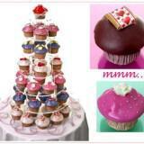 candy cakes wedding cupcakes 160x160 - Καλοκαιρινός γάμος Δεξίωση DIY: Πώς να διαμορφώσετε έναν οικονομικό μπουφέ μόνες σας!