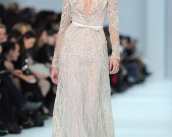elie saab2 350x280 - Τα καλύτερα φορέματα για γαμο από τις haute couture συλλογές Ανοιξη Καλοκαίρι 2012