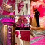 gamos stolismos diakosmisi magenta 3 160x160 - Στολισμός γάμου με το χρώμα Magenta