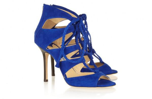 Nifika papoutsia goves something blue wedding shoes laceup jimmy choos