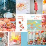 stolismos gamou korali xroma 1 160x160 - Γάμος - Διακόσμηση Εμπνευστείτε από το κοραλί χρώμα