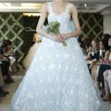 2013 wedding dress trend two tone bridal gowns floral ivory lace light blue tulle  full 160x160 - Νυφικα 2013 Οι τάσεις στα νυφικά για τη νέα χρονιά