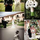black white anemone wedding flowers  full 160x160 - Τα λουλούδια στο γάμο: Εμπνευστείτε από την ανεμώνη