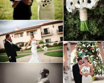 black white anemone wedding flowers  full 350x280 - Τα λουλούδια στο γάμο: Εμπνευστείτε από την ανεμώνη