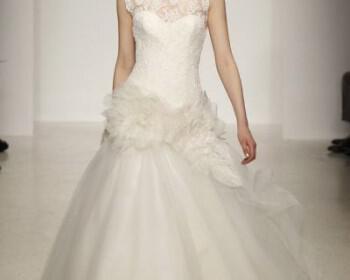 nifiko amsale 2013 wedding dress by amsale spring 2013 bridal gowns 13  full 350x280 - Νυφικά Amsale 2013 συλλογή Άνοιξη 2013