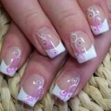 nifiko manikiour french manicure with sweet lilac decoration 160x160 - Ιδέες και tips για το τέλειο νυφικό μανικιούρ