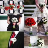 red white black wedding flowers anemone  full 160x160 - Τα λουλούδια στο γάμο: Εμπνευστείτε από την ανεμώνη