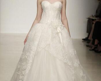 spring 2013 wedding dress by kenneth pool bridal gowns 12  full 350x280 - Νυφικά Φορεματα Kenneth Pool Collection Άνοιξη 2013