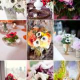 wedding flower ideas anemone bridal bouquets centerpieces  full 160x160 - Τα λουλούδια στο γάμο: Εμπνευστείτε από την ανεμώνη