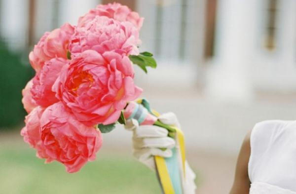 Τα λουλούδια στο γάμο: Παιώνιες & Νεραγκούλες