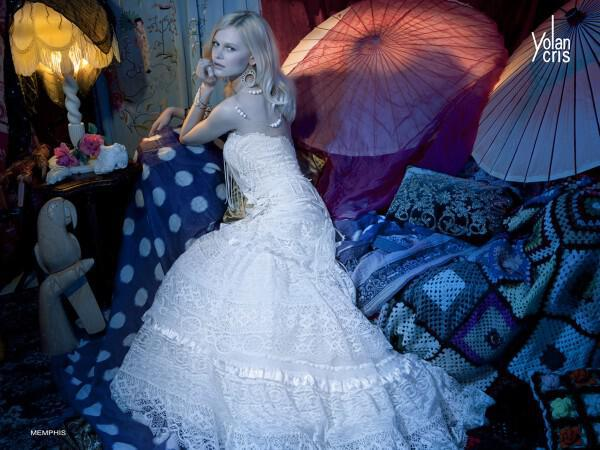 Νυφικά Yolan Chris Συλλογή Bohemian Luxury 2012