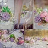 romantic wedding flowers vintage outdoor wedding succulents and ranunculus  full 160x160 - Τα λουλούδια στο γάμο: Παιώνιες & Νεραγκούλες