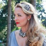 vintage bride black silver wedding hair clip flower  full carousel 160x160 - Εντυπωσιακά αξεσουάρ για τα μαλλιά της νύφης που θα μαγνητίσουν τα βλέμματα!