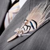 etsy wedding treasures for your handmade wedding glam feathers grooms bout  full carousel 160x160 - Φτερά και Πούπουλα…δώστε στο γάμο σας άλλο «αέρα»!