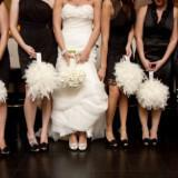 etsy wedding treasures for your handmade wedding glam feathers ivory bridesmaid bouquets  full carousel 160x160 - Φτερά και Πούπουλα…δώστε στο γάμο σας άλλο «αέρα»!