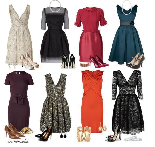 Βραδινά σύνολα για chic εμφανίσεις και φορέματα κουμπάρας