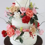 tourta gamou louloudia 13 160x160 - Τούρτες γάμου με λουλούδια – Απλά υπέροχες!