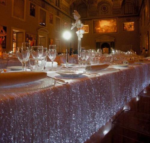 Fiber Optic Cloth Lumigram1 - Οπτικές ίνες, μια νέα μόδα ακόμα και για το γάμο