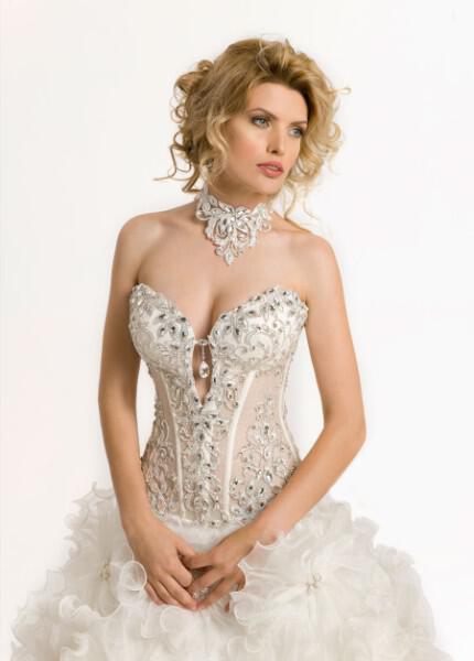 nifika sposa moda luxury 2013 10 - Νυφικά 2013 Sposa Moda collection Luxury