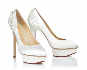nifika papoutsia Charlotte Olympia 2013 123 350x280 - Σπάσε το bridal look σου με ιδιαίτερα νυφικά παπούτσια!