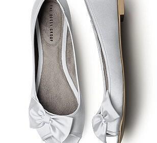 nifika papoutsia flat mpalarines sandalia 10 308x280 - Νυφικά παπούτσια Flat Μπαλαρίνες + Σανδάλια