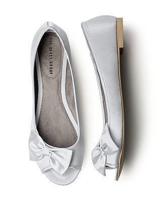 Νυφικά παπούτσια Flat Μπαλαρίνες + Σανδάλια