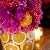 Διακόσμηση γάμου με λεμόνια