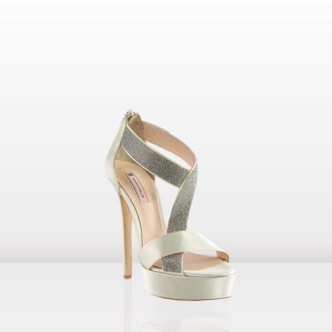 Νυφικά παπούτσια Tsakiris Mallas 2013