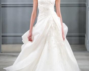 Monique Lhuillier Wedding Dresses Collection Fall 2013 21 350x280 - Νυφικά 2014 Monique Lhuillier Collection άνοιξη 2014