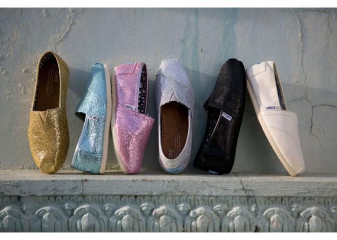 Νυφικά παπούτσια Toms Καλοκαίρι 2013