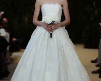 Wedding Dresses 2014 Top designs of the season CH4 2544719a 350x280 - Νυφικά 2014 : Τα καλύτερα σχέδια της σεζόν