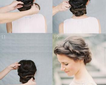 9 Wedding Hairstyles you can do yourself 2 350x280 - 9 Νυφικά Χτενίσματα που μπορείς να κάνεις μόνη σου!