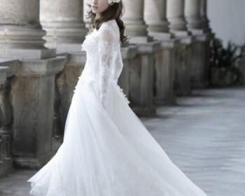 Alberta Ferretti Wedding Dresses 2014 9 350x280 - Νυφικά Alberta Ferretti collection 2014
