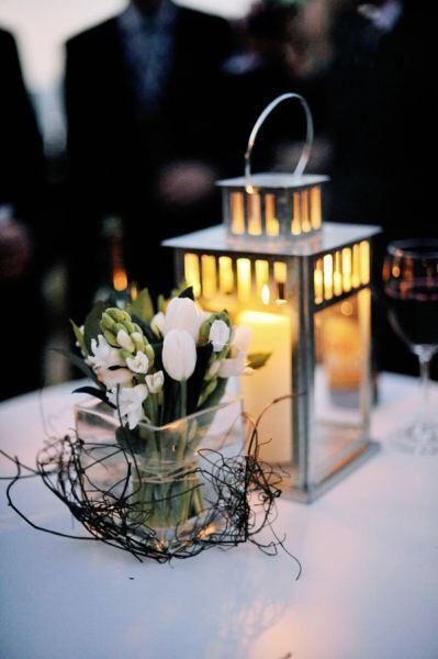 Διακόσμηση γάμου με κεριά
