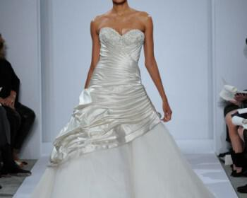 Dennis Basso Wedding Dresses collection Spring 2014 13 350x280 - Νυφικά Dennis Basso Άνοιξη 2014