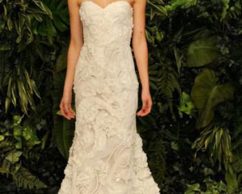 Naeem Khan Wedding Dresses collection Spring 2014 6 350x280 - Νυφικά Naeem Khan Άνοιξη 2014