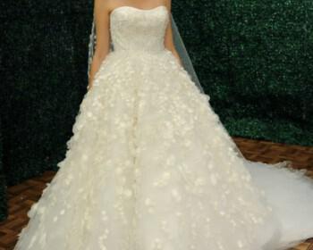 Jorge Manuel Wedding Dresses collection Spring 2014 4 350x280 - Νυφικά Jorge Manuel collection Άνοιξη 2014