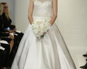 theia white bridal02 350x280 - Νυφικά Theia White collection Φθινόπωρο 2014