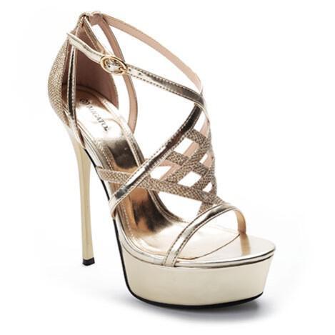 8a6a5bf9cd Νυφικά παπούτσια Migato Καλοκαίρι 2014